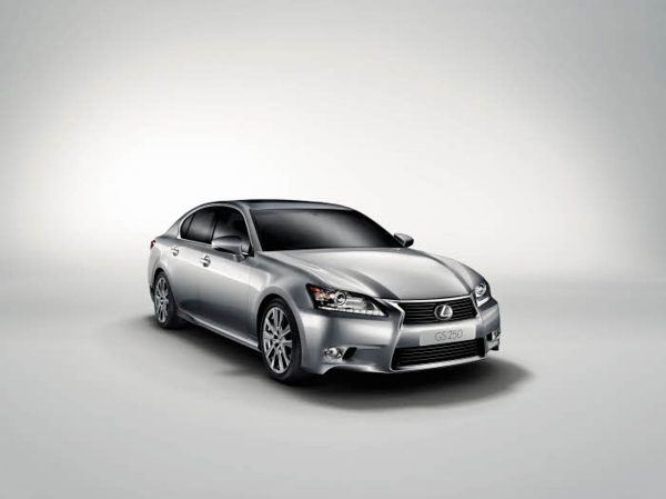 New Lexus GS version 250