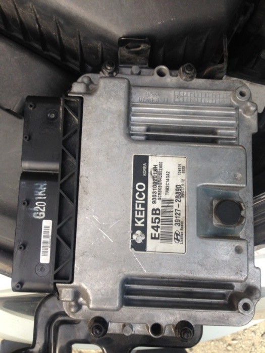 Computadora ECM Hyundai Accent 2013 - Foros de mecánica