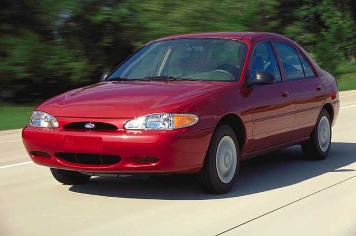 Used 1997 Ford Escort Features & Specs